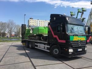 Abholung Heidi, Aichi SR 14 CJ, Mietpark Jappsen GmbH
