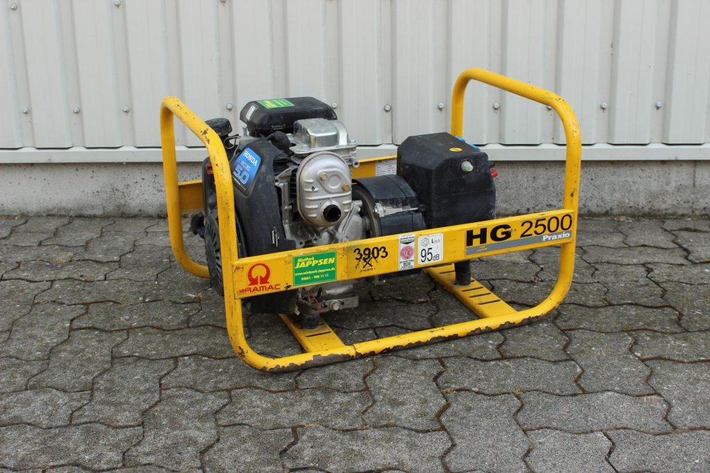 Pramac HG 2500 Mietpark Jappsen GmbH
