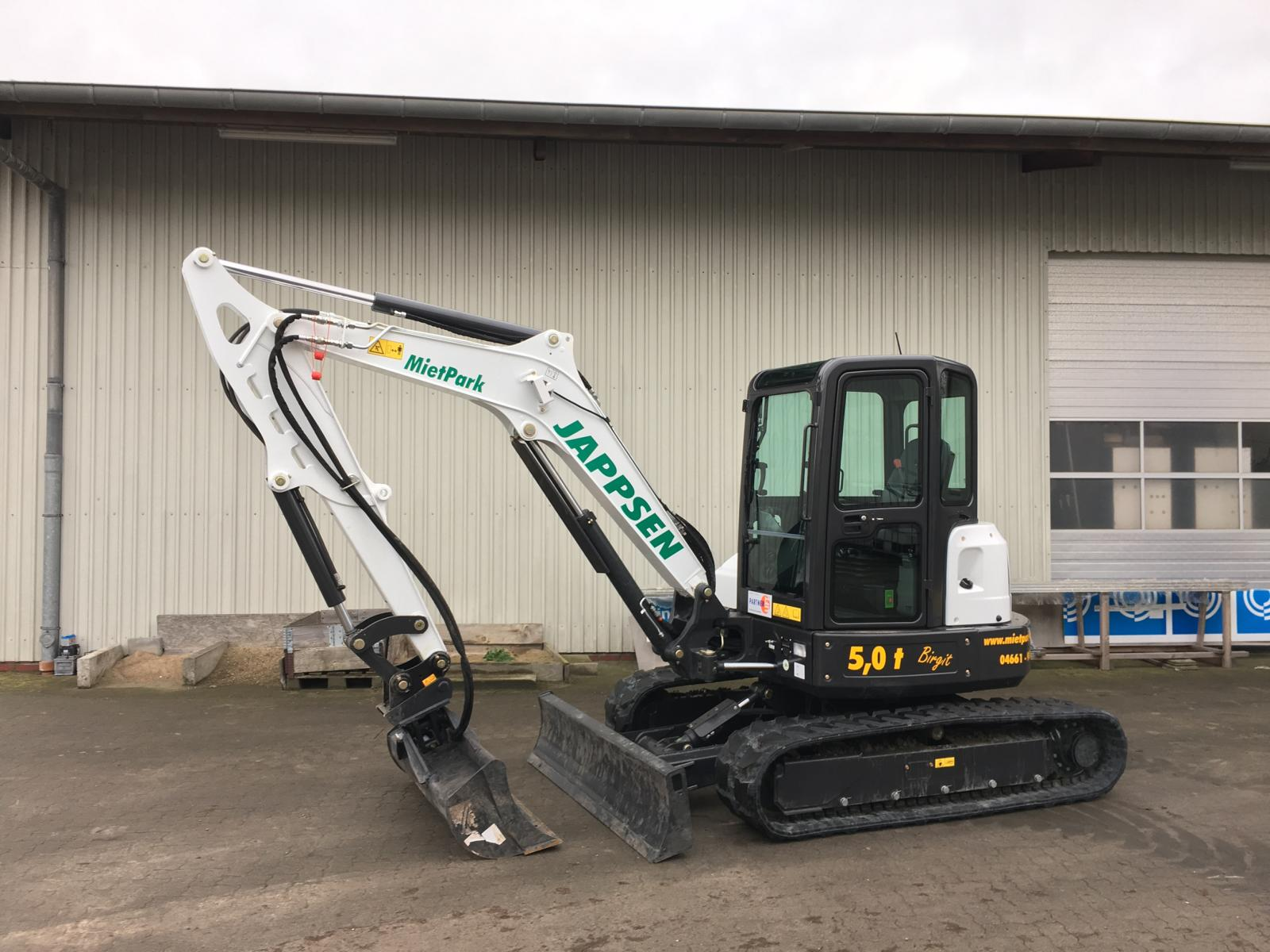 Birgit, Bobcat E50, Mietpark Jappsen GmbH (5)